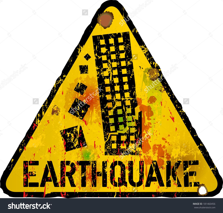 earthquake clipart