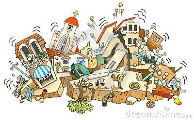 Earthquake Stock Illustrations u2013 2,921 Earthquake Stock Illustrations, Vectors u0026amp; Clipart - Dreamstime