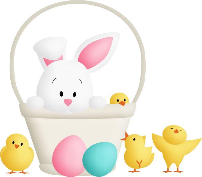 Easter Baskets, Easter Printables, Easter Bunny, Bunnies, Album, Scrap,  Clip Art, Png, Feta