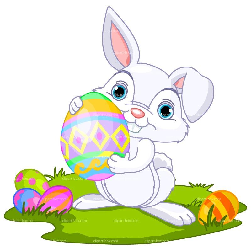 The Easter Bunny not only carries Easter eggs in his basket, but also has  candy