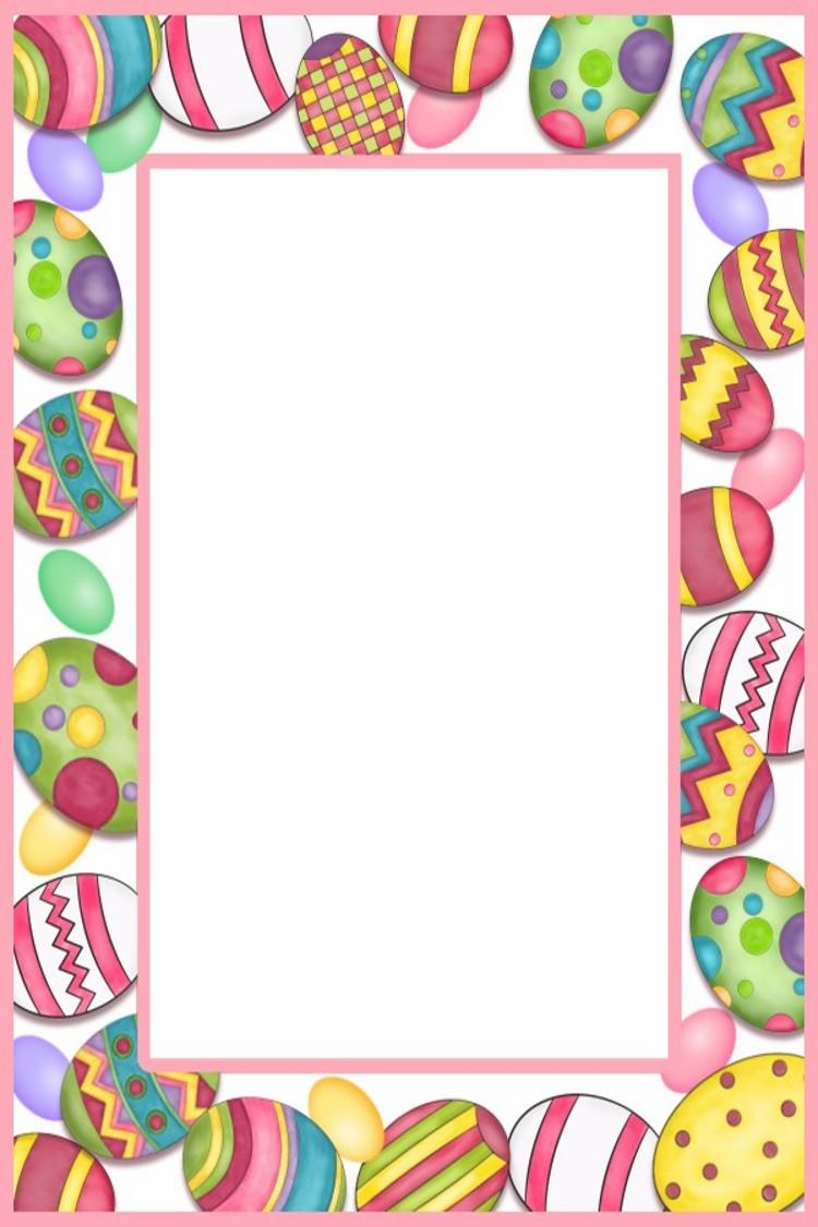 Easter Border Clip Art