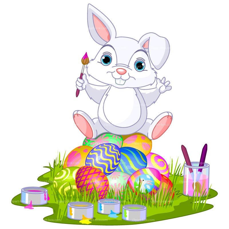 Easter bunny free clip art - ClipartFox