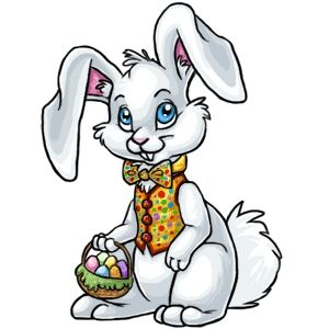 Easter Bunny Free Clipart #1