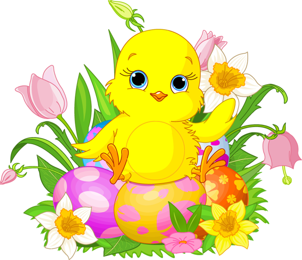 Easter Chick; Easter Clipart .