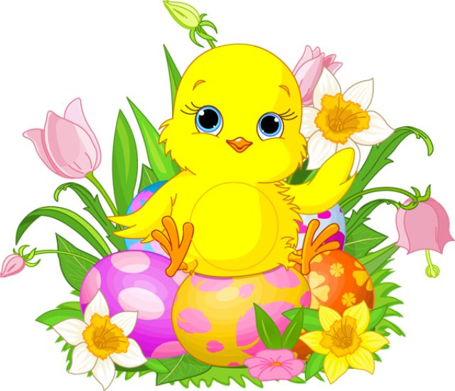 9 Free Unique Easter Clip Art Designs: Easter Chick
