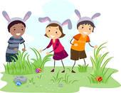 easter egg hunt children ...