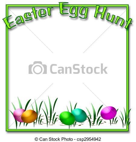 ... Easter egg hunt - dyed Easter eggs in the grass scrapbook... Easter egg hunt Clip Artby ...