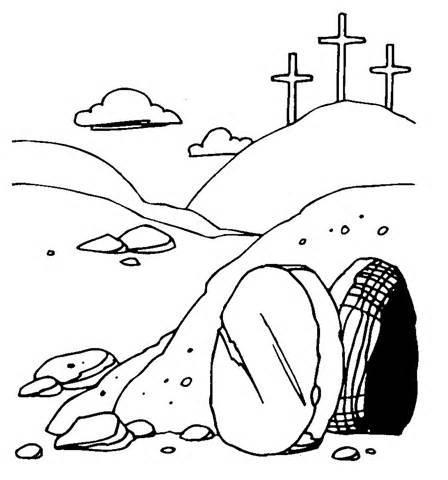 Easter Empty Tomb Clip Art ..