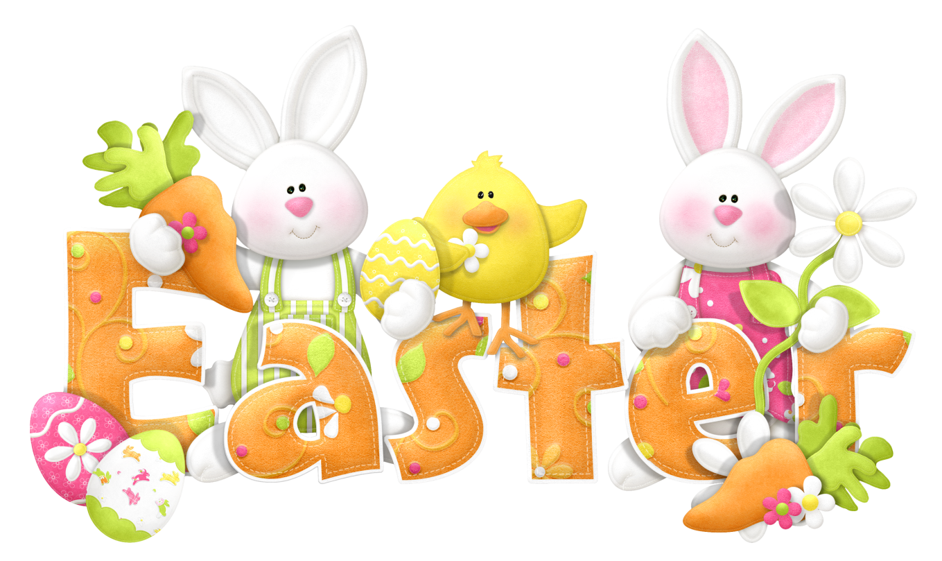Easter Transparent Cute Text Png Clipart Cliparts Co