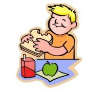 eating lunch clipart