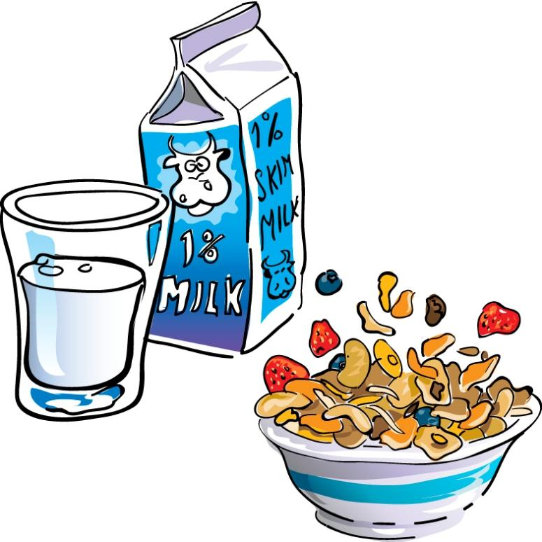 Eating breakfast clipart free clipart images 3