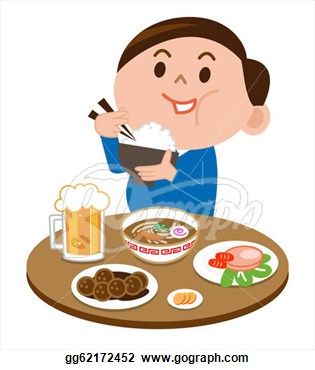 Clipart Eating Food Clipart