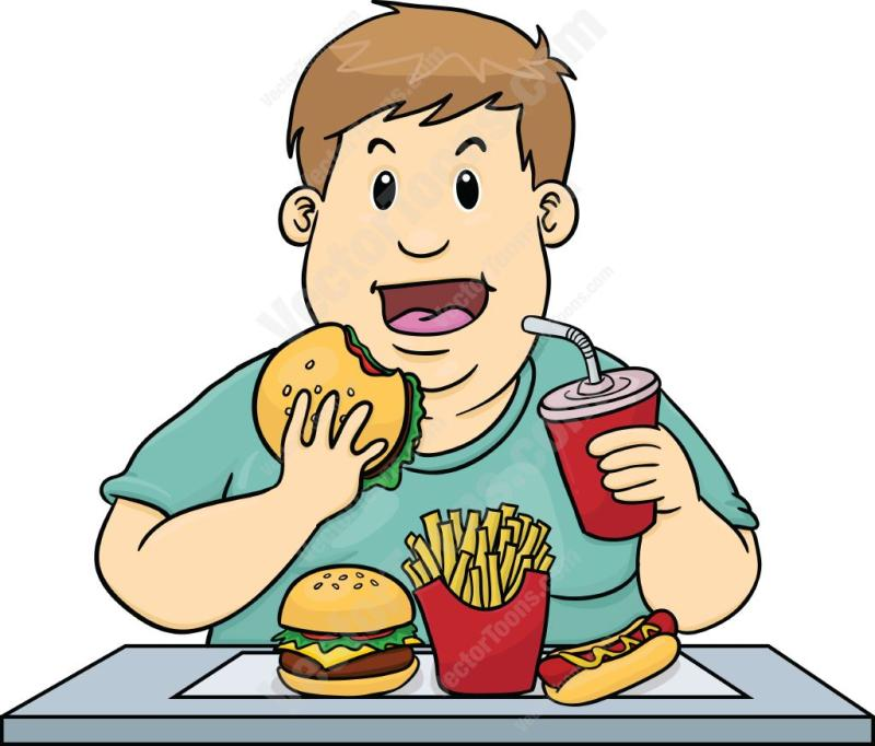 Clipart Of Eating Food OurClipart