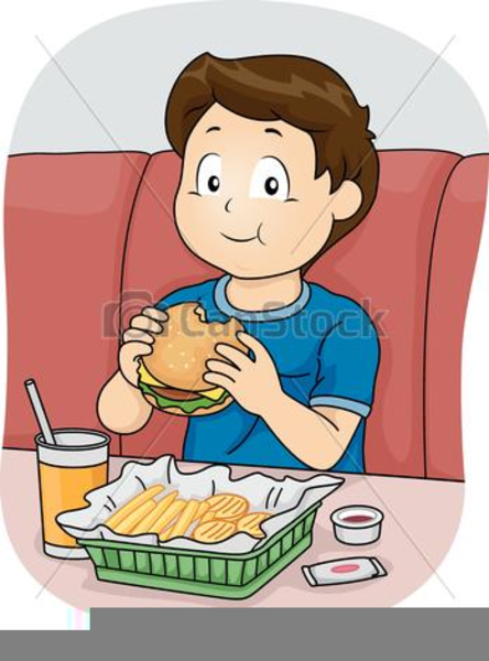 Eating Food Clipart this image as: