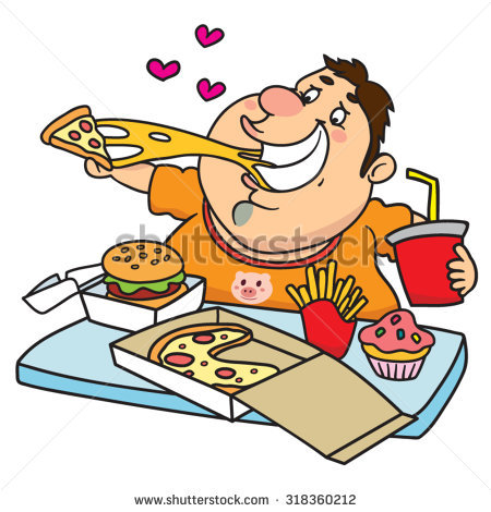 eating food clipart - Eating Food Clipart