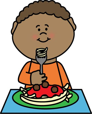 eating food clipart 7