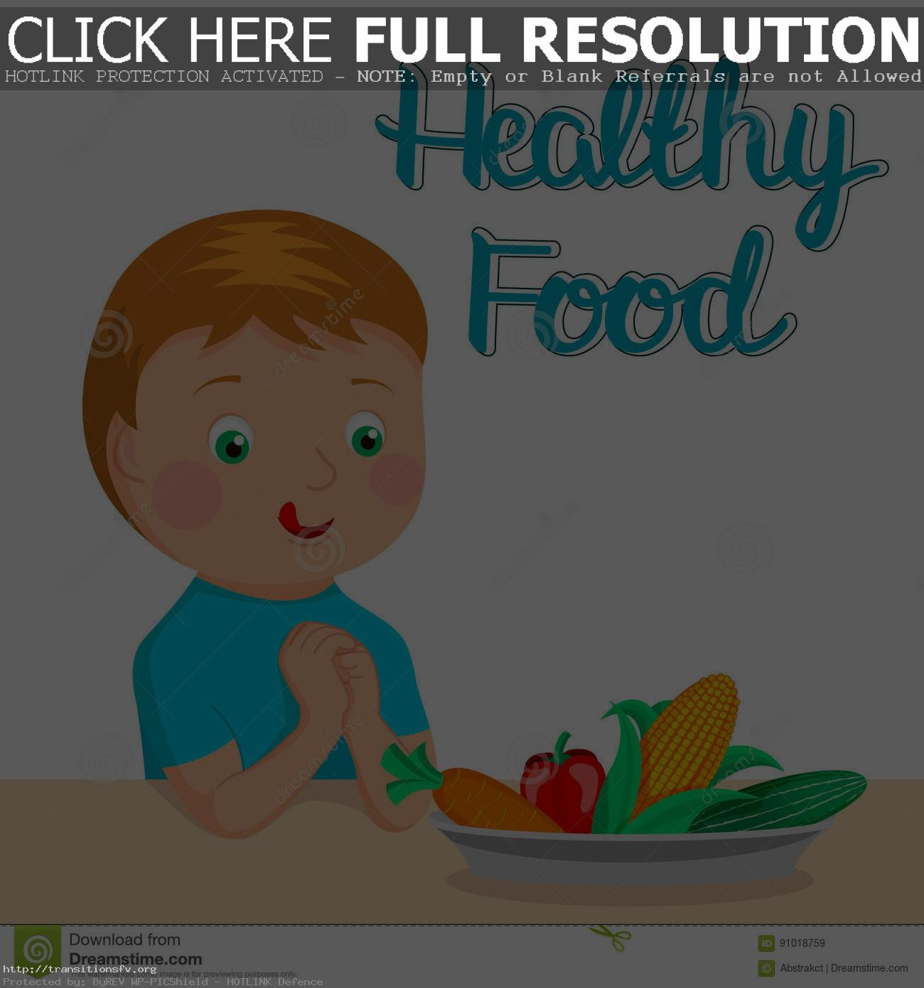 Eating Healthy Food Clipart 3 Station