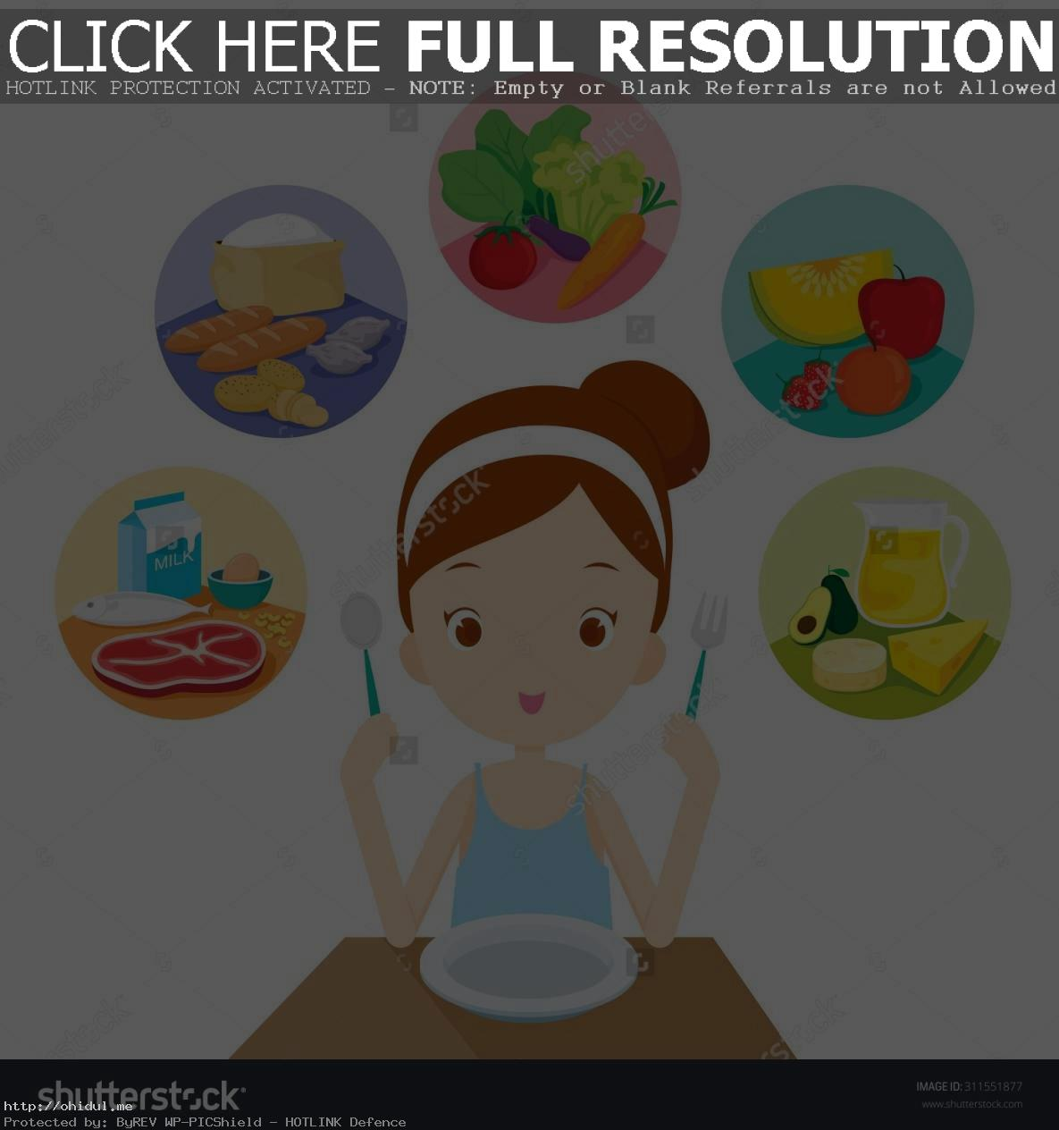 Healthy Eating Clipart Clipar - Eating Food Clipart