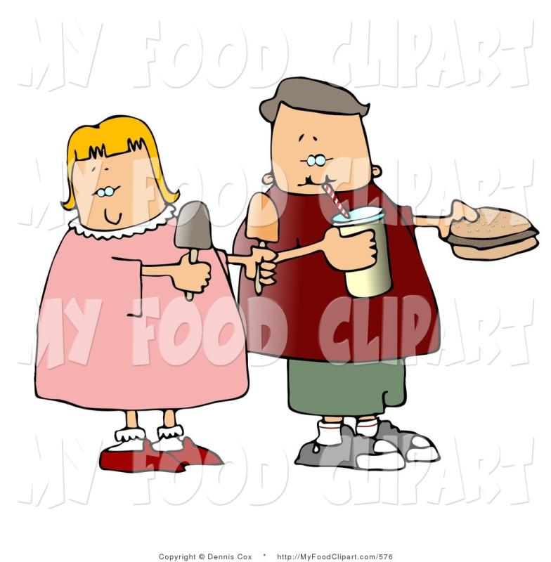 pin eating food clipart #1