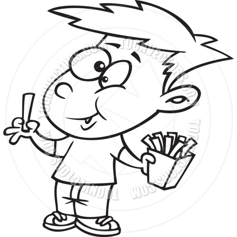 pin eating food clipart #2