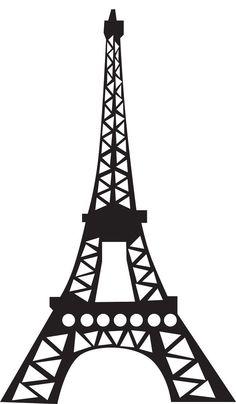 Eiffel tower art on paris .