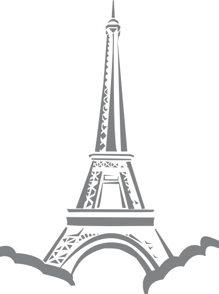 Eiffel Tower Paris clip art