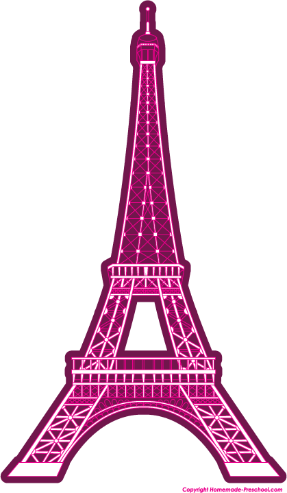 Free Eiffel Tower clipart, ready for PERSONAL and COMMERCIAL projects!