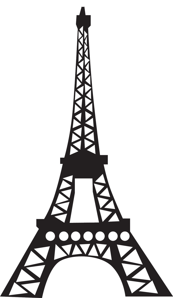 Eiffel Tower Drawing - Clipart .