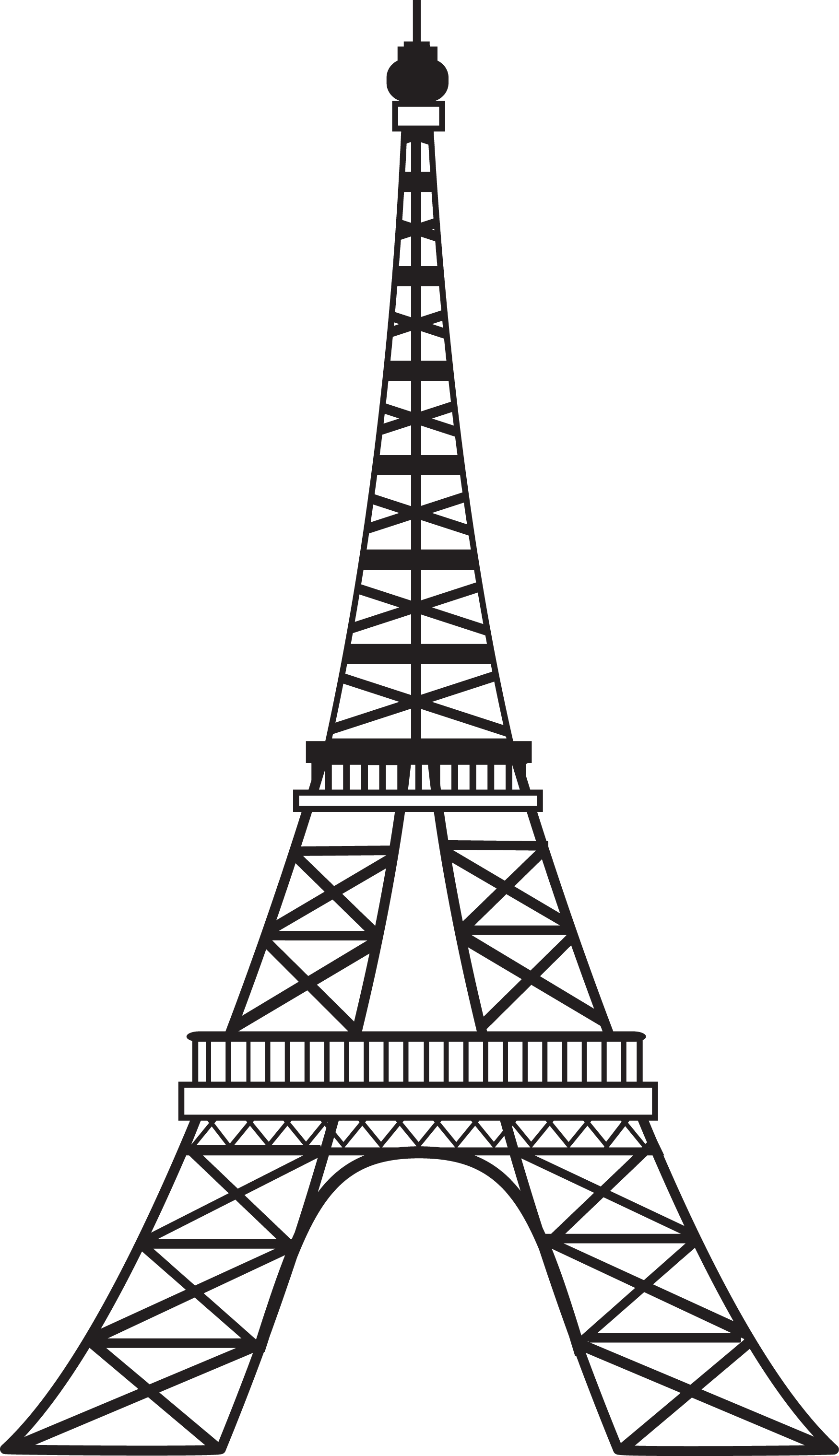 Eiffel Tower Line Drawing Png Free Cliparts That You Can Download To