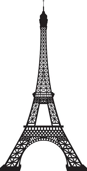 Eiffel Tower vector art .