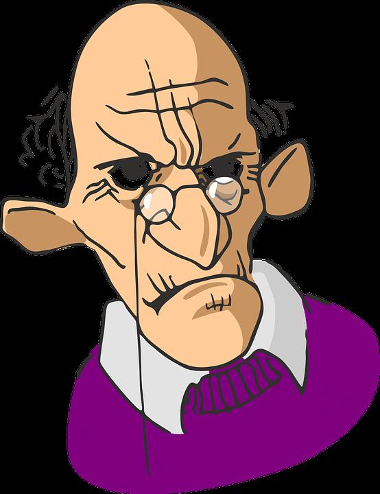 Elderly, Wrinkled, Man, Old, .