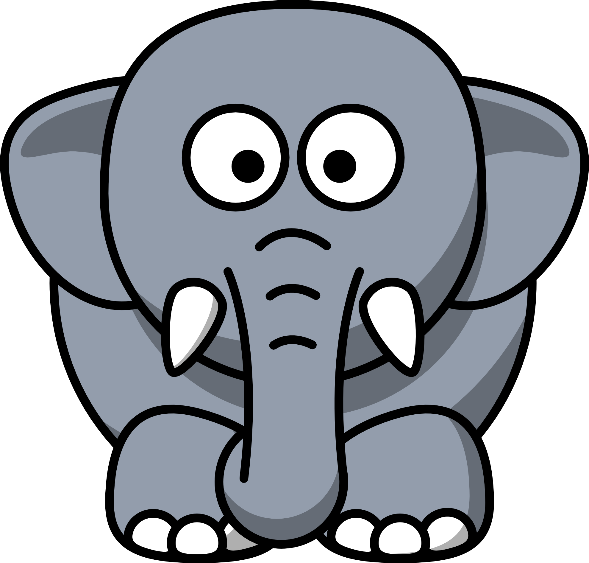 Elephant Clip Art Free Download | Clipart library - Free Clipart Images