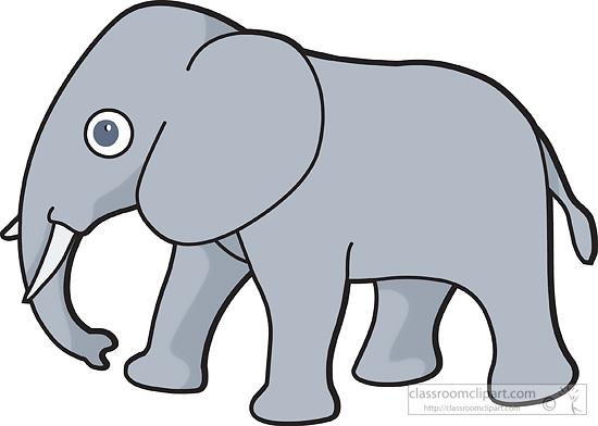 Elephant Clipart Elephant 229a Classroom Clipart
