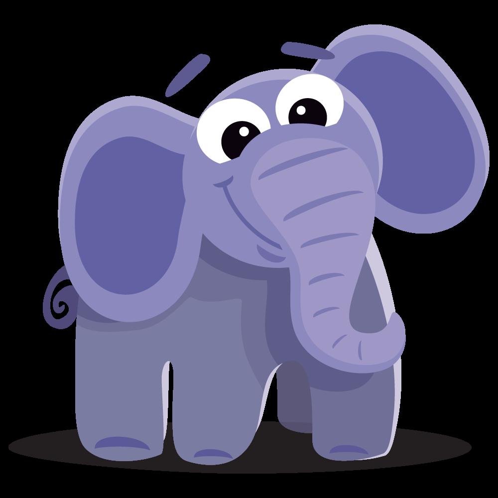 Elephant free to use clipart 2