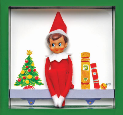 Elf On Shelf Clipart