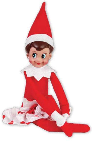 Elf On The Shelf Clipart .