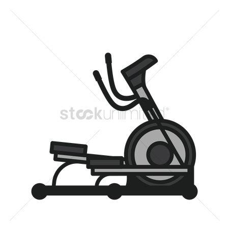 1870569 Elliptical trainer : Elliptical trainer