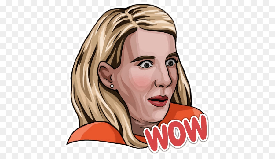 Emma Roberts Telegram Facial hair Sticker Clip art - emma roberts