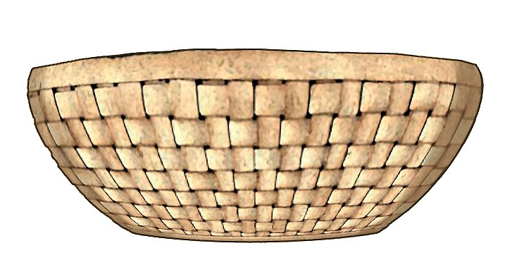 Empty bushel basket clipart kid