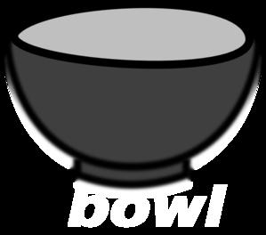 Empty Cereal Bowl Clip Art