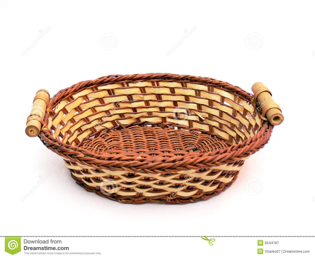 Empty Fruit Basket Clipart #1