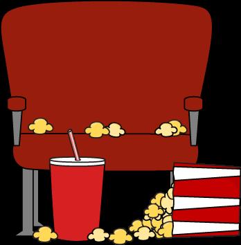 Empty Movie Theater Seat Clip Art Image Empty Movie Theater Seat