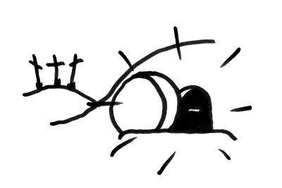 Empty Tomb Clipart #2007570. Embed codes for your blog or website. Download