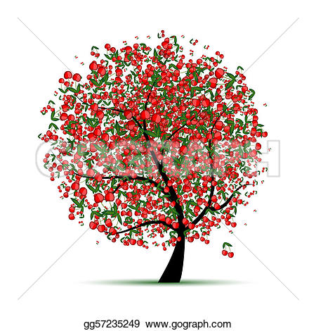 ... Energy cherry tree for your design