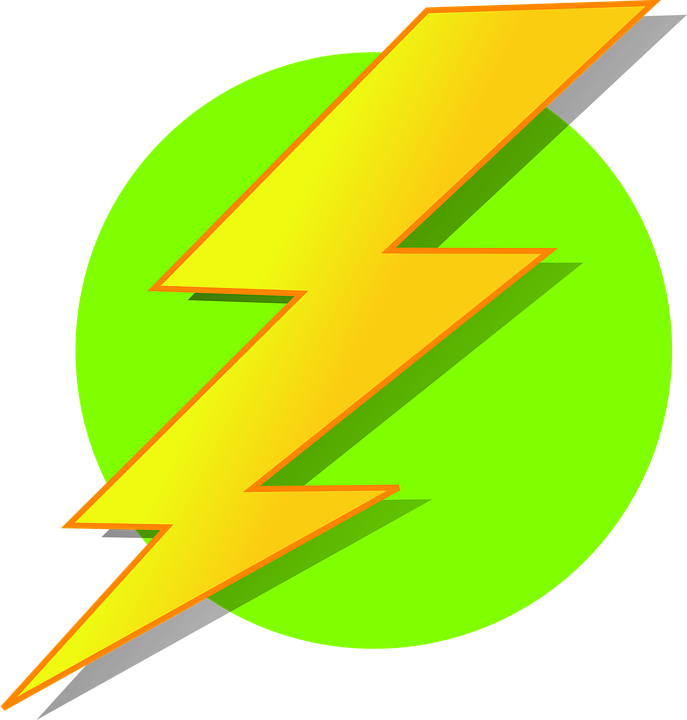 Lightning clipart energy #8