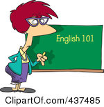 English Class Teachers Clipart #1
