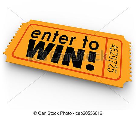 ... Enter to Win Raffle Ticket Winner Lottery Jackpot - Enter to.