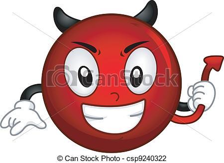 ... Evil Smiley - Illustration of an Evil Smiley