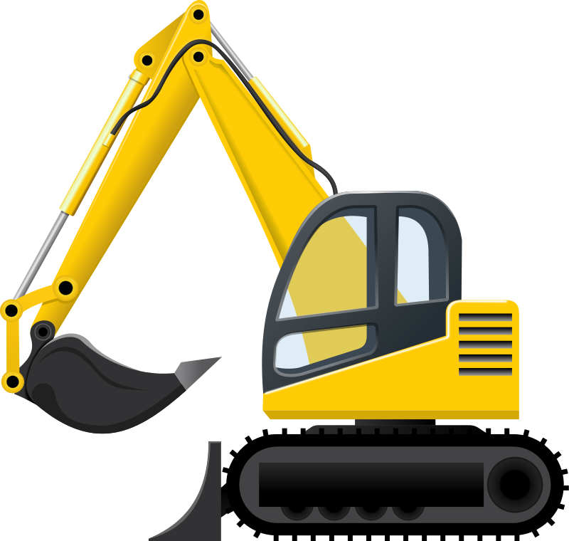 Excavator Clip Art Images Free For Commercial Use