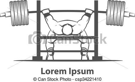 bench press powerlifting - csp34221410
